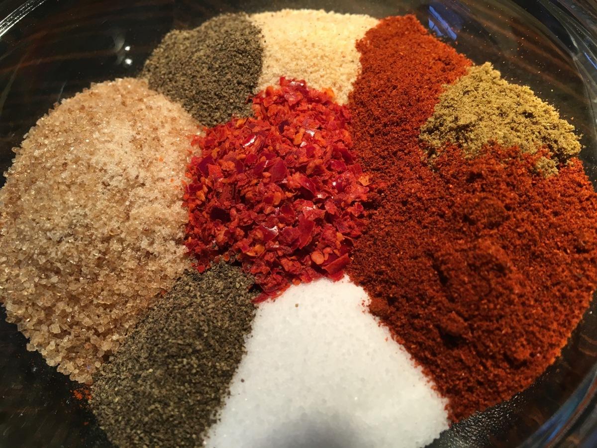 Rubs, Marinaden und Glasur