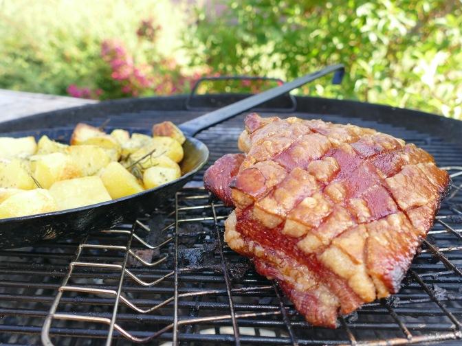 Schweinebauch mit Rosmarin Kartoffeln
